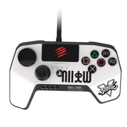 FightPad PRO MadCatz Street Fighter V Branco - PS4 / PS3