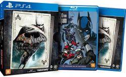 Batman Return to Arkham + Filme Batman: Assalto em Arkham - PS4