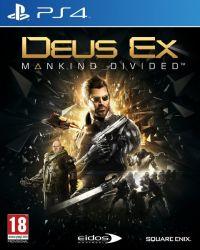 Deus Ex: Mankind Divided - Seminovo - PS4