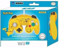 Controle Game Cube Wired Battle Pad Pikachu - Wii / Wii U