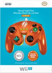 Controle Game Cube Wired Fight Pad Samus - Wii U