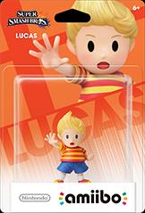 Amiibo: Lucas - Wii U (Jap)