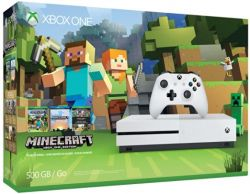 Console Xbox One S Minecraft Favorites Bundle 4K 500GB