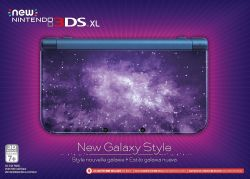 New Nintendo 3DS XL Console Galaxy Style Edition