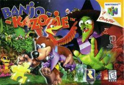 Banjo-Kazooie - Seminovo - Nintendo 64