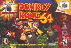 Donkey Kong 64 - Seminovo - Nintendo 64