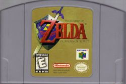 The Legend of Zelda: Ocarina of Time - Seminovo - Nintendo 64