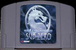 Mortal Kombat Mythologies: Sub-Zero - Seminovo - Nintendo 64