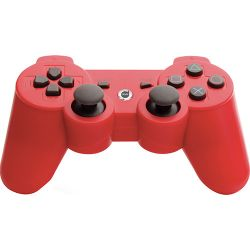 Controle Dualshock 3 Vermelho - Play Game