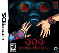 999: Nine Hours, Nine Persons, Nine Doors - Nintendo DS