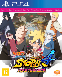 Naruto Shippuden: Ultimate Ninja Storm 4 - Road to Boruto - PS4