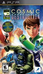 Ben 10 Ultimate: Alien - Cosmic Destruction - Seminovo - PSP