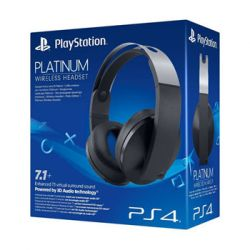 Headset Sony Wireless Platinum - PS4