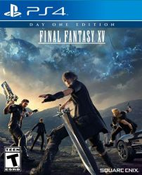 Final Fantasy XV - Seminovo - PS4