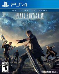Final Fantasy XV - Seminovo - PS4