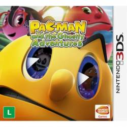 Pac-Man e as Aventuras Fantasmagóricas - Seminovo - Nintendo 3DS (S/ Case)