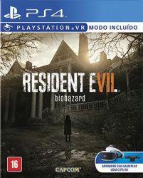 Resident Evil 7 - Seminovo - PS4