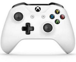 Controle Wireless Branco s/ Caixa Bluetooth c/ entrada P2 - Xbox One / Xbox One S