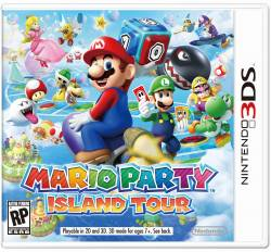 Mario Party: Island Tour - Seminovo - Nintendo 3DS (S/ Case)