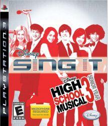 Disney Sing It: High School Music 3 - Senior Years - Seminovo - PS3