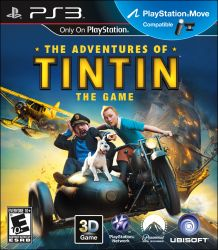 The Adventures of TinTin: The Game - Seminovo - PS3