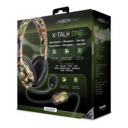 Headset Dreamgear X-Talk Gaming Camuflado - Xbox One