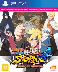 Naruto Shippuden: Ultimate Ninja Storm 4 - Road to Boruto - Seminovo - PS4