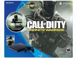 Console Playstation 4 Slim 500GB c/ Jogo Call of Duty Infinite Warfare - PS4