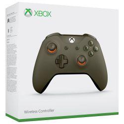 Controle Sem Fio Edição Army Green/Orange - Xbox One