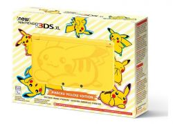 New Nintendo 3DS XL Pikachu Edition