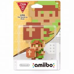 Amiibo The Legend Of Zelda Link 8 Bits - Nintendo 3DS / Wii U