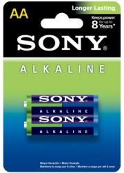 Pilhas Alkaline AA - 2Unid. - Sony