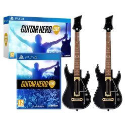 Guitar Hero Live Guitar Bundle c/ 2 Guitarras - PS4