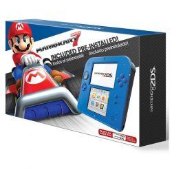 Console Nintendo 2DS c/ Mario Kart 7 Azul e Preto -  ( download )