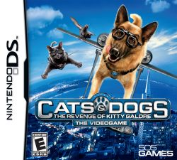 Cats & Dogs: The Revenge of Kitty Galore - Seminovo - Nintendo DS