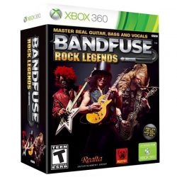 BandFuse: Rock Legends + Cabo USB - Xbox 360