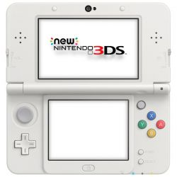 New Nintendo 3DS XL Console Branco Metalico (Pearl White)