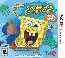 Spongebob HeroPants - Seminovo - Nintendo 3DS (S/ Case)
