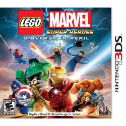 LEGO Marvel Super Heroes - Seminovo - Nintendo 3DS (S/ Case)