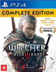 The Witcher 3: Wild Hunt - Complete Edition - Em Português - Seminovo - PS4