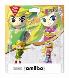 Amiibo Toon Link e Zelda Dual Pack 30th Anniversary