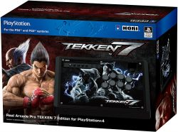 Controle Arcade HORI Fighting Stick Tekken 7 Edition - PS4