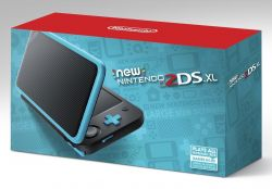 Console New Nintendo 2DS XL - Azul/Preto