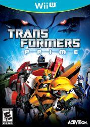 Transformers Prime - Seminovo - Wii U