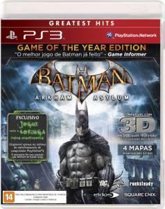 Batman Arkham Asylum - Game of the Year Edition - Seminovo - PS3