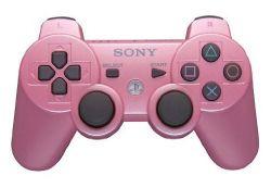 Controle Dualshock 3 Original Sony Rosa - Seminovo - PS3