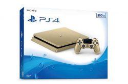 Console Playstation 4 Slim 500GB Versão Gold PS4