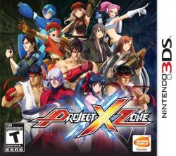 Project X Zone - Seminovo - Nintendo 3DS