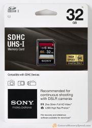 Cartão Memória SD 32GB para Alta Performance UHS-I SDHC U3