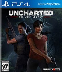 Uncharted The Lost Legacy - Seminovo - PS4